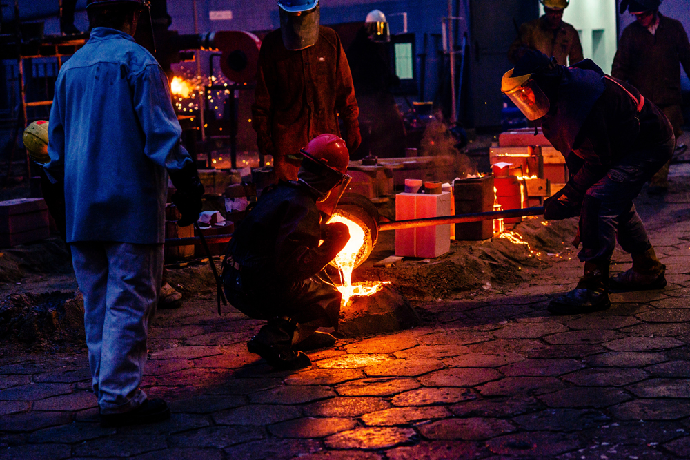 investment casting and sand casting