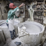 Second Dip for Investment Casting