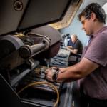 Metal pressure testing